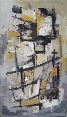 artwork Study in Sandstone by William Peascod 1960