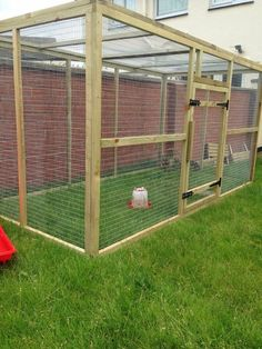 Rabbit run by Moore Space for pets on Facebook 8ft x 4 x 4