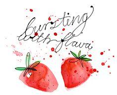 Margaret Berg Art: Bursting with Flava