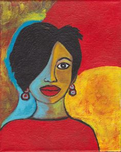 my painting for an upcoming show #bettyrefour #okc