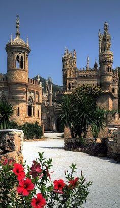 Colomares Spires - Benalmadena, Malaga, Spain (by timecapturer)