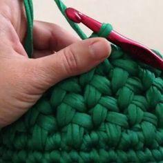 Ponto lindo!!! @Regrann_App from @aymeli75 #videoaulas #crochet #fiosdemalha