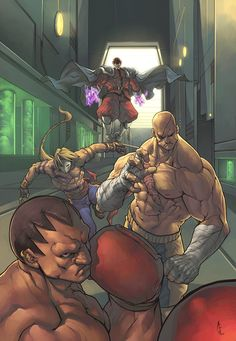 Street Fighters bosses