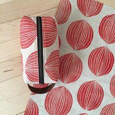 printmaking- red onion