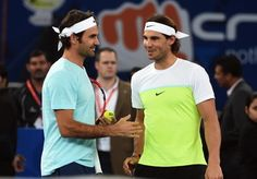 """sportskeeda-in-yahoopartner: """"    Roger Federer and Rafael Nadal wrote another chapter of their rivalry in the Delhi leg of the IPTL Can an event reach such a high level of mystique that it's not just..."""