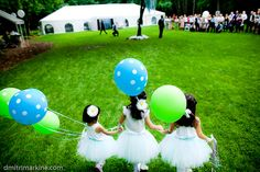 balloons for flower girls