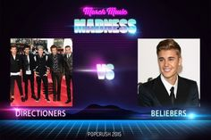 PLEASE VOTE FOR ONE DIRECTION!!!! we are getting behind and we need everyone to vote! we can't lose to Bieber!