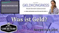 #Geldkongress #Diskussion #Gespräch #Debatte #Austausch #Redner #Speaker Was ist #Geld – Philosophische #Gesprächsrunde im Rahmen des #Online-Geldkongresses