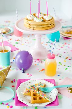 Ideas birthday breakfast table kids for 2019 Birthday Crafts, Unicorn Birthday Parties, Birthday Celebration, Girl Birthday, 22nd Birthday, Husband Birthday, Birthday Wishes, Happy Birthday, Birthday Table
