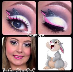 clown makeup ideas easy makeup ideas makeup ideas witch ideas for homecoming ideas simple makeup ideas halloween makeup ideas ideas for thanksgiving Disney Eye Makeup, Disney Inspired Makeup, Eye Makeup Art, Makeup Geek, Skull Makeup, Eyeshadow Makeup, Dead Makeup, Clown Makeup, Costume Makeup