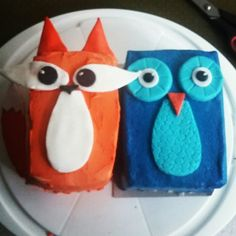 Birthdaycakes for one of my friends :)