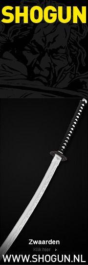 Van hoogwaardige handgemaakte John Lee Samurai zwaarden tot de officiële  Rambo messen met licentie.