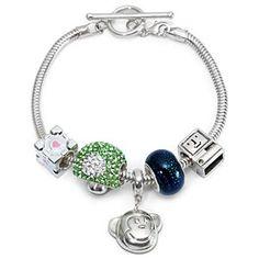 Build Your Own European-Style Charm Bracelet and Charm Beads
