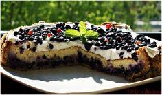 Tartă/Cheesecake cu afine Cheesecake, Erika, Desserts, Food, Tailgate Desserts, Deserts, Cheesecakes, Essen, Postres