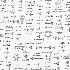 Science Fair 2 Math Formulas White - Robert Kaufman