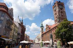 Torun - Centro Viejo de la Población se encuentra en Polonia, Ciudad natal de Nicolás Copérnico