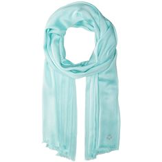 Calvin Klein Solid Satin Finish Pashmina (Seaglass) ($34) ❤ liked on Polyvore featuring accessories, scarves, wrap shawl, calvin klein, calvin klein scarves, satin scarves and wrap scarves