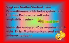 Mathe-Student - Dies & Das Professor, Student, Math Resources, Teacher