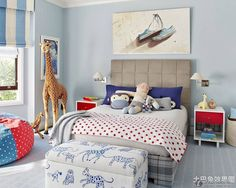 Fashion children room layout renderings 2016