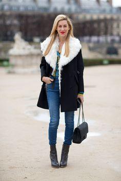 Street Style Paris Fashion Week Fall 2014.