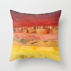 America Throw Pillow by Grace Breyley - $20.00