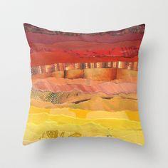 America Throw Pillow by Grace Breyley - $20.00