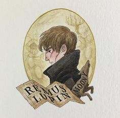 The marauders are actually supposed to be really young (like early but they made them look in their in the movie :( — But anyways, here's Remus Lupin! He turned out kinda hot in this drawing… / Photo Excellente Harry Potter Fan Art, Harry Potter Anime, Harry Potter Portraits, Mundo Harry Potter, Always Harry Potter, Lily Potter, Harry Potter Drawings, Harry Potter Film, Harry Potter Characters