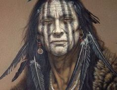 Native American Artists Paintings | Native American Portraits | Photography