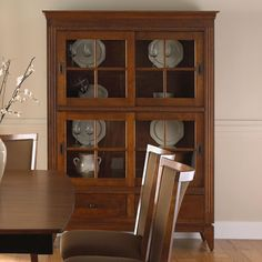 Custom Dining Customizable Buffet/China Cabinet by Canadel at Becker Furniture World Dining Room Server, Dining Cabinet, China Cabinet, Furniture Upholstery, Dining Furniture, Formal Dining Set, China Storage, Dining Room Curtains, Double Sliding Doors