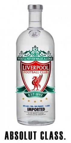 Liverpool Football Club vodka brand
