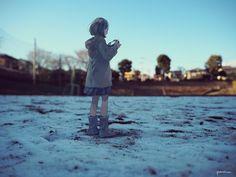 ミニチュア雪原 /miniature snow field