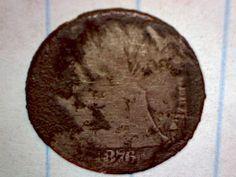 1876CC Seated Dime found Dec 2013 in Greenville TX