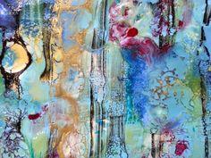 encaustic Creme Brulee, Art Journal Pages, Painting, Paintings, Draw, Drawings