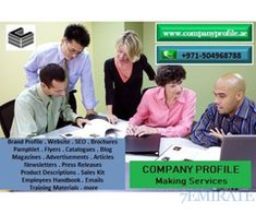 Level up your business 971504968788 Company Profile Making in UAE