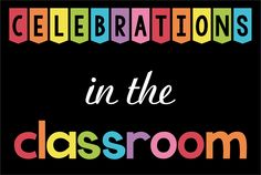 Kindergarten - Second Grade Classroom Celebrations Pinterest Board: games, activities, resources and ideas for teaching.