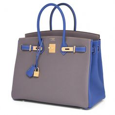 0f6c1a21cb1 View this item and discover similar top handle bags for sale at - HSS Hermes  Etain Blue Electric Togo Birkin Special Order Horseshoe Stamp Exclusive  Brand ...