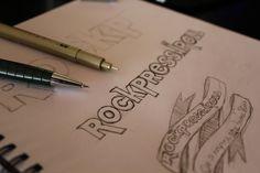 logo para o website RockPressnRoll