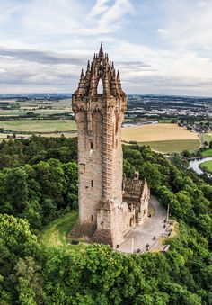 Monumento a William Wallace, Escocia. #escocia #travel #viajar