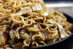 A perfect Panda Express Chow Mein Copycat recipe! The only difference you will find is that it is about half as much oil, so you don't feel so heavy after your meal! Enjoy with my Panda Express Mushroom Chicken Copycat dish!