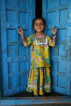 Beautiful child in Kutch,Gujarat #india