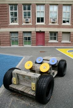 Things to Consider before Making Kids Playground Design, – Natural Playground İdeas Tire Playground, Preschool Playground, Playground Design, Outdoor Playground, Playground Ideas, Children Playground, Kids Outdoor Play, Kids Play Area, Indoor Play