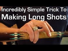 Incredibly Simple Trick to Making Long Shots Pool Table Games, Pool Table Room, Bar Games, Pool Games, A Table, Billiards Bar, Billiard Pool Table, Billards Room, Custom Pool Tables