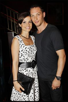 Tom Hardy and Charlotte Riley....please tell me that you didn't really break up!!!! I want to see you make lovely babies probably more than you guys!!! :(
