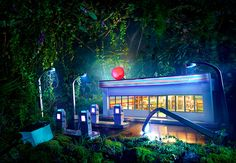 David Lachapelle - Scales models of refineries and gas stations