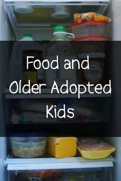 Food is one of the hot topics that comes up often on adoption forums and in support groups. Because kids from hard places often need control to feel safe (remember that 'feel' is different than 'be...