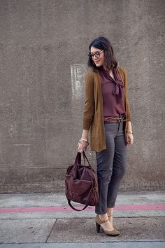 Perfect fall work outfit