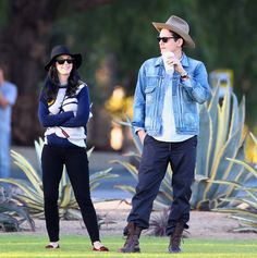 Katy Perry and John Mayer visit Santa Barbara on November 12, 2012.