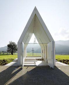 Minimal Chapel in Austria – Fubiz Media