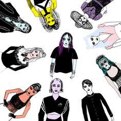 Happy World Goth Day! Easter Art, Easter Crafts, Alternative Art, Trend News, Macabre, Gothic Fashion, Graphic Design, World, Day