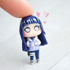 Hinata, Kakashi, Naruto, Angela, Polymer Clay Charms, Polymers, Most Favorite, Anime Chibi, Anime Characters